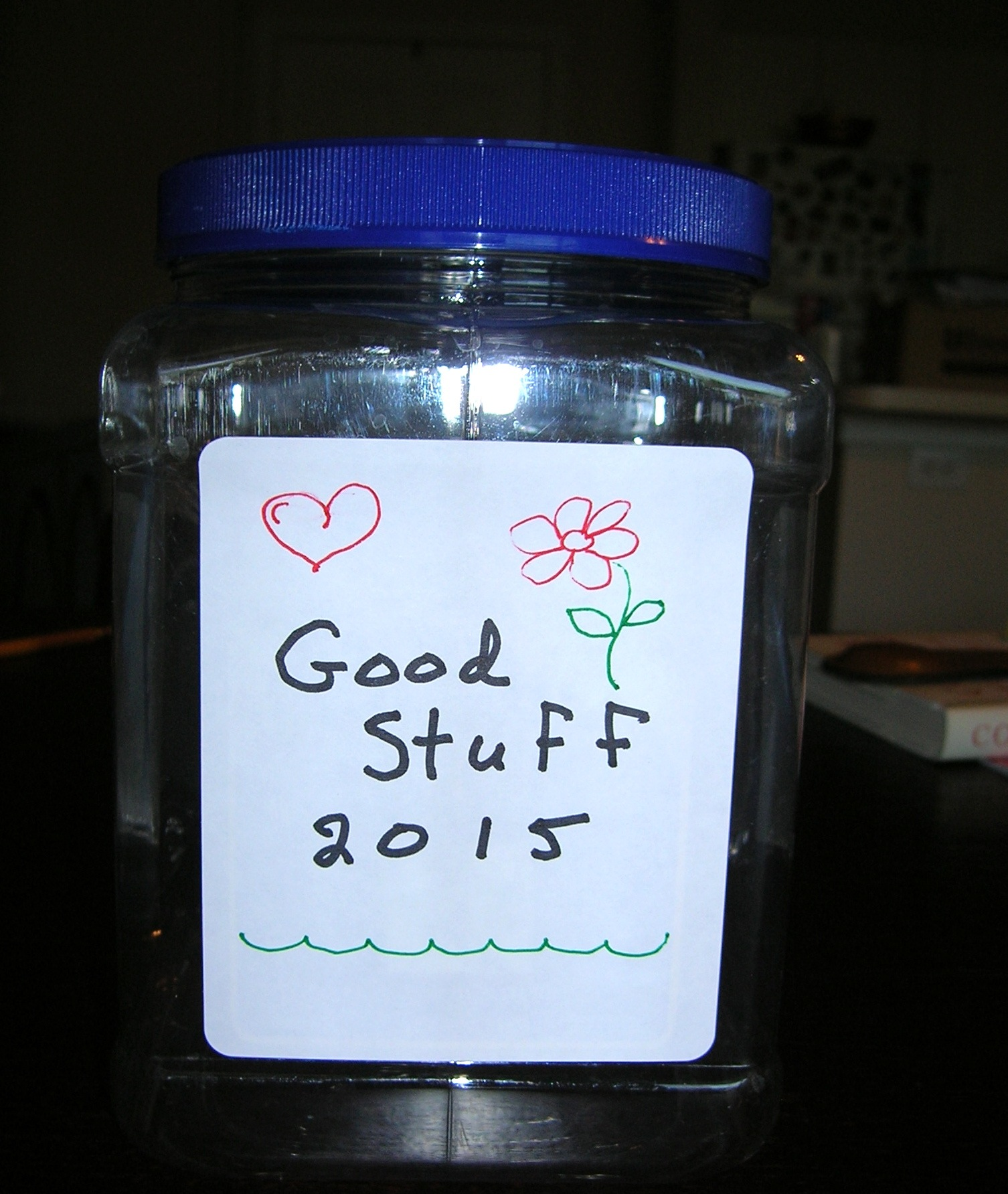 The Positivity Jar, Re-visited